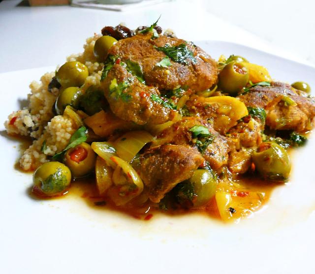spesialresep.com - Makanan Khas Maroko | Moroccan Chicken