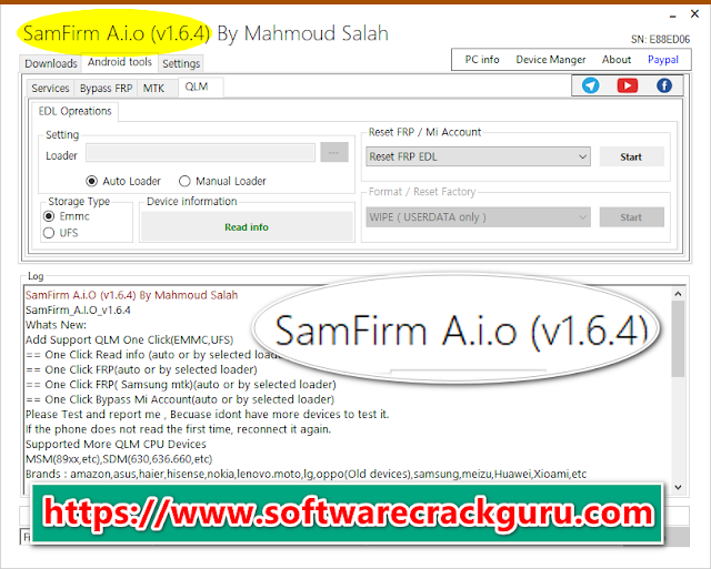 Download SamFirm Tool V1.6.4 For Free All Users