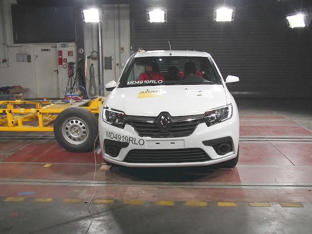 Latin NCAP: Sandero melhora para 3 estrelas após reforços