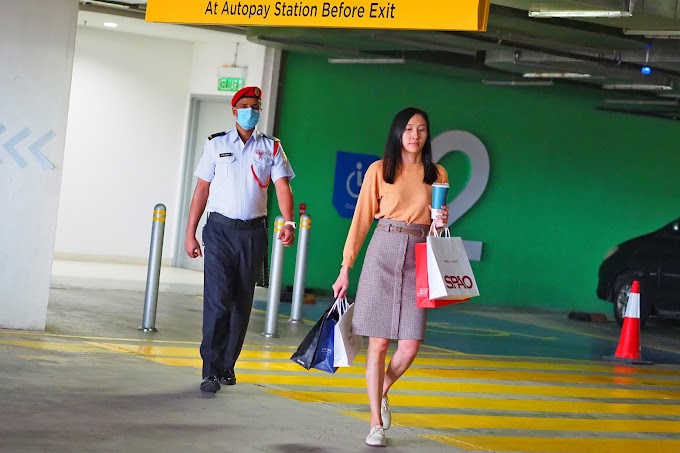 Paradigm Mall, Johor Bahru to provide security escorts for women  ensuring their safety and security.