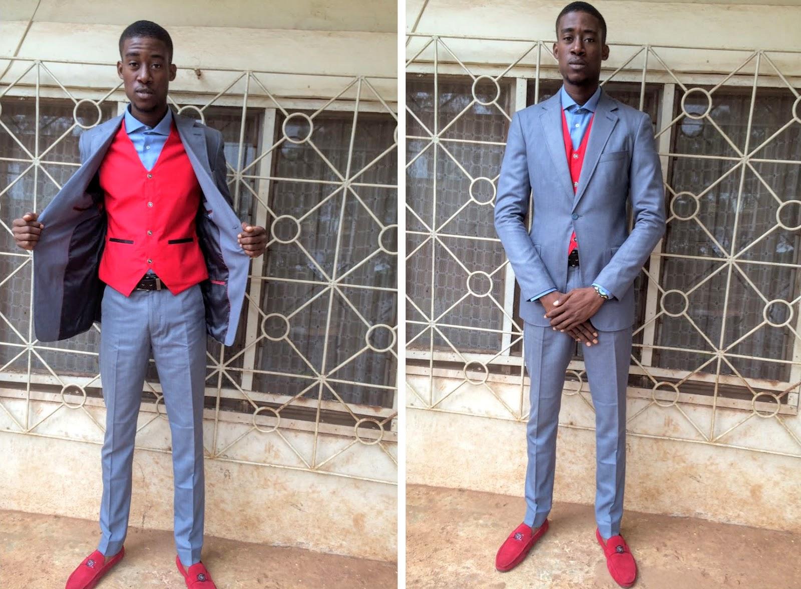 Naidja suit for men