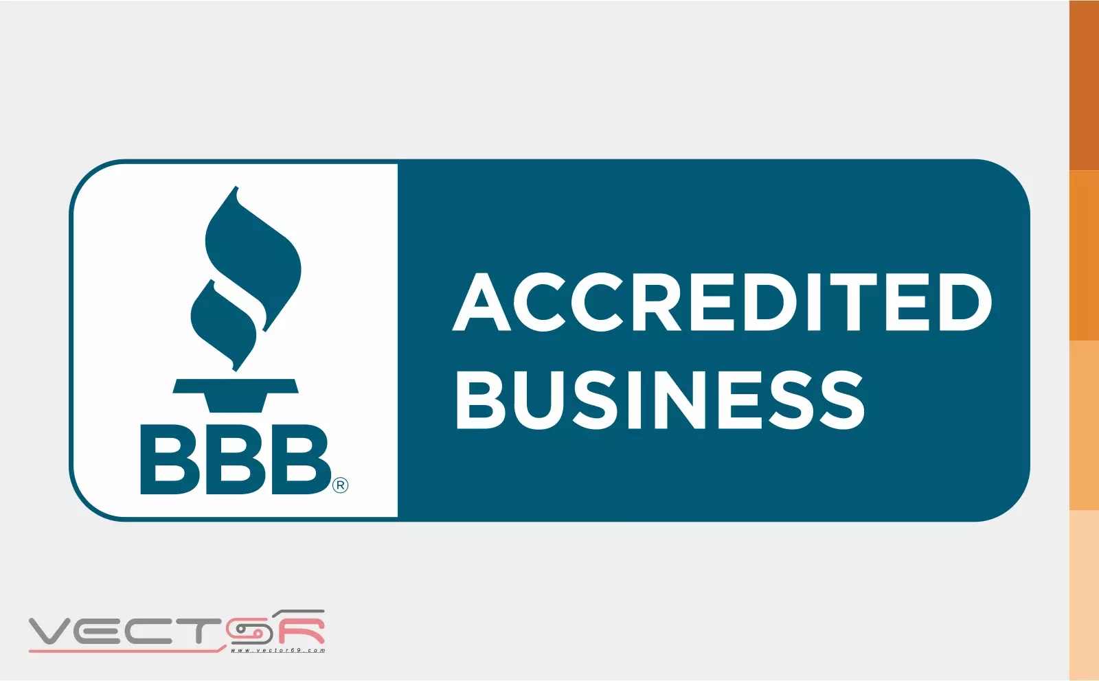 BBB Accredited Business Horizontal Seal - Download Vector File AI (Adobe Illustrator)