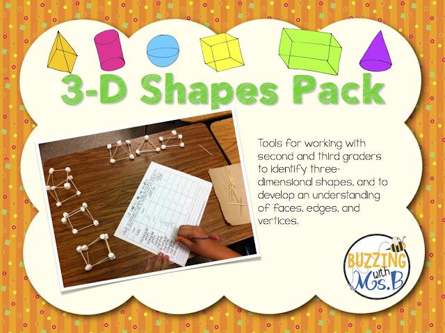 https://www.teacherspayteachers.com/Product/3D-Shapes-Activity-Pack-223482