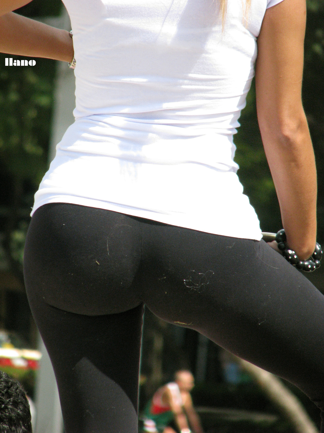 perfect ass in spandex
