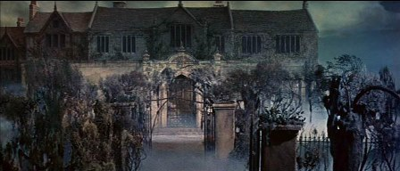 The Premature Burial (1962) matte painting