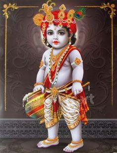 Lord  Little Krishna Wallpaper