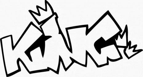Graffiti Wall: Graffiti characters coloring pages