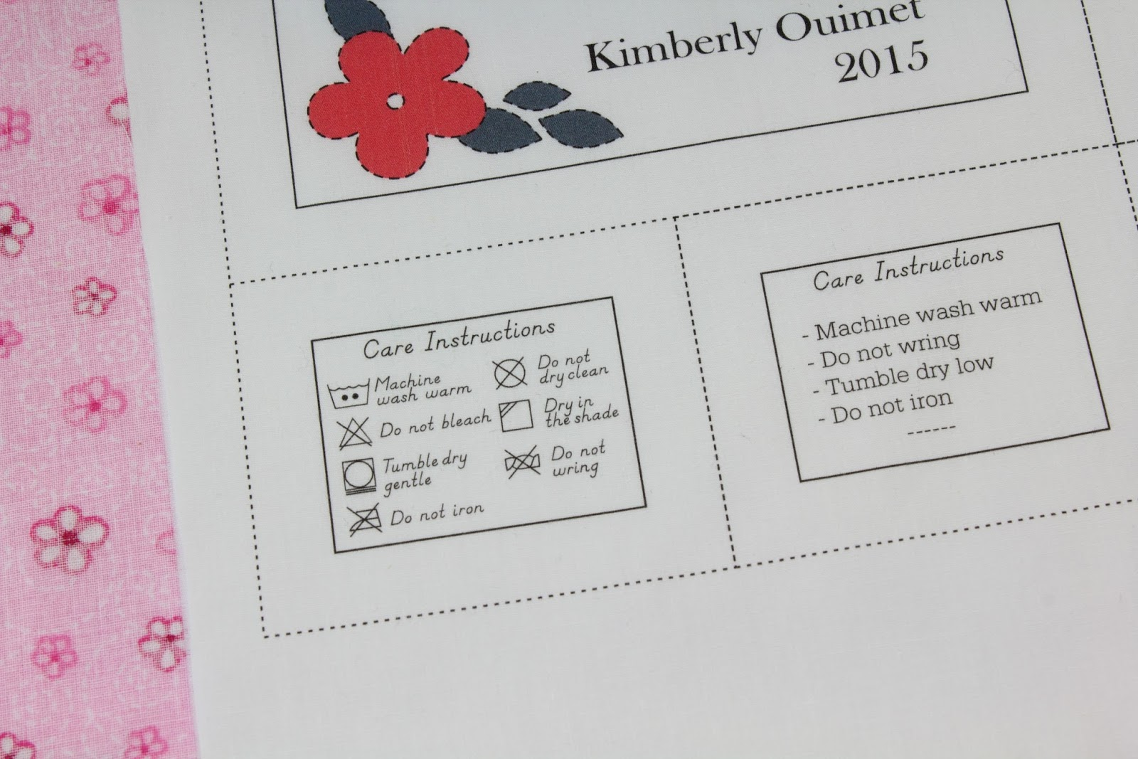 This is a photo of Old Fashioned Printable Quilt Labels