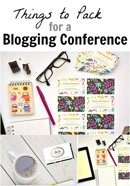 Things to Pack for a Blogging Conference - whether it's your first conference or one of many, remember to pop these things into your conference bag