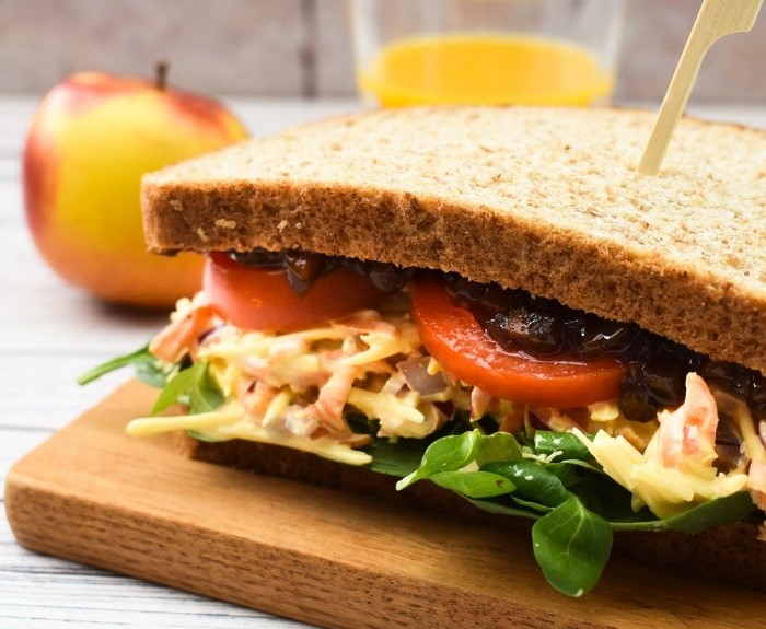 Vegan Cheese Savoury Sandwich