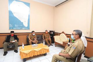 Pengarahan dan Pembinaan Kepada Kepala Dinas beserta Seluruh Pejabat Struktural
