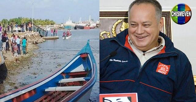 Oficialmente ya son 33 ahogados en Güiria y Diosdado se sigue burlando