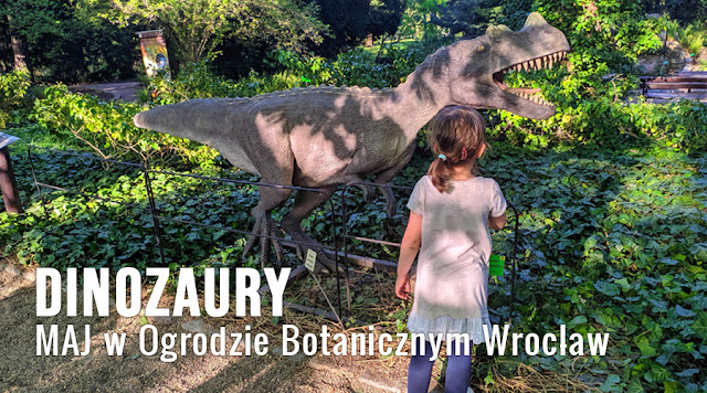 Dinozaury w Ogrodzie Botanicznym