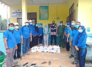 KSJ Desa Sumber Tani Berikan Bantuan Beras Kepada Fakir Miskin Dan Kaum Dhuafa