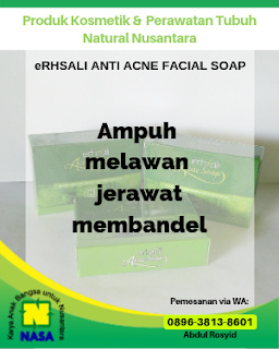 ERHSALI Anti Acne Soap Sabun Anti Jerawat