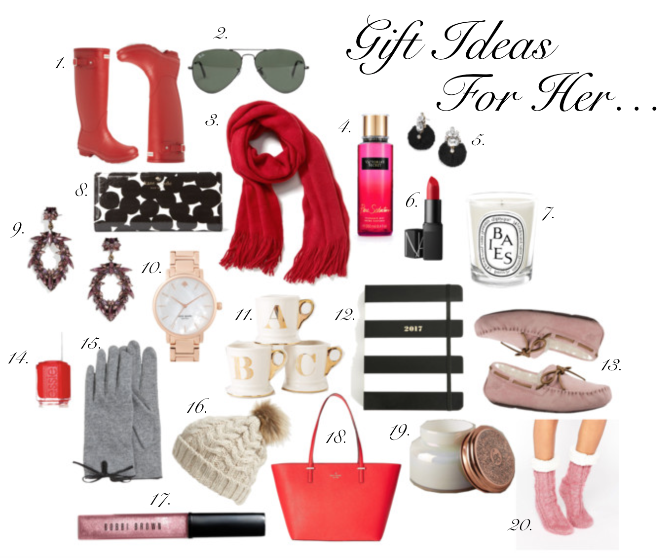 Gift Ideas For Her...