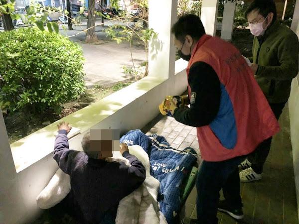 彰化縣政府啟動寒害關懷機制 關懷獨居老人及遊民