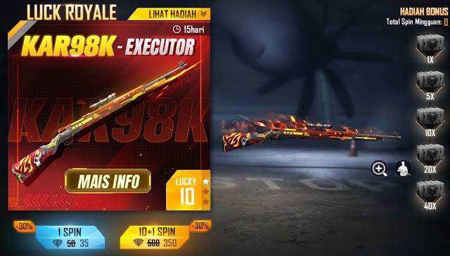 skin weapon royale Kar98 Maret 2021