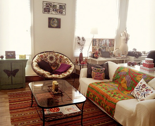 Bohemian Living Room Ideas: BOHO MARKET: Boho Chic Decor Ideas: Living Rooms
