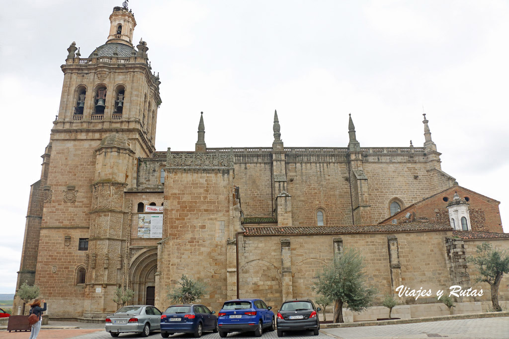 Catedral de Coria, vista general