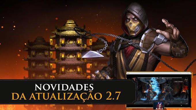 Mortal Kombat Mobile: Atualização 2.7