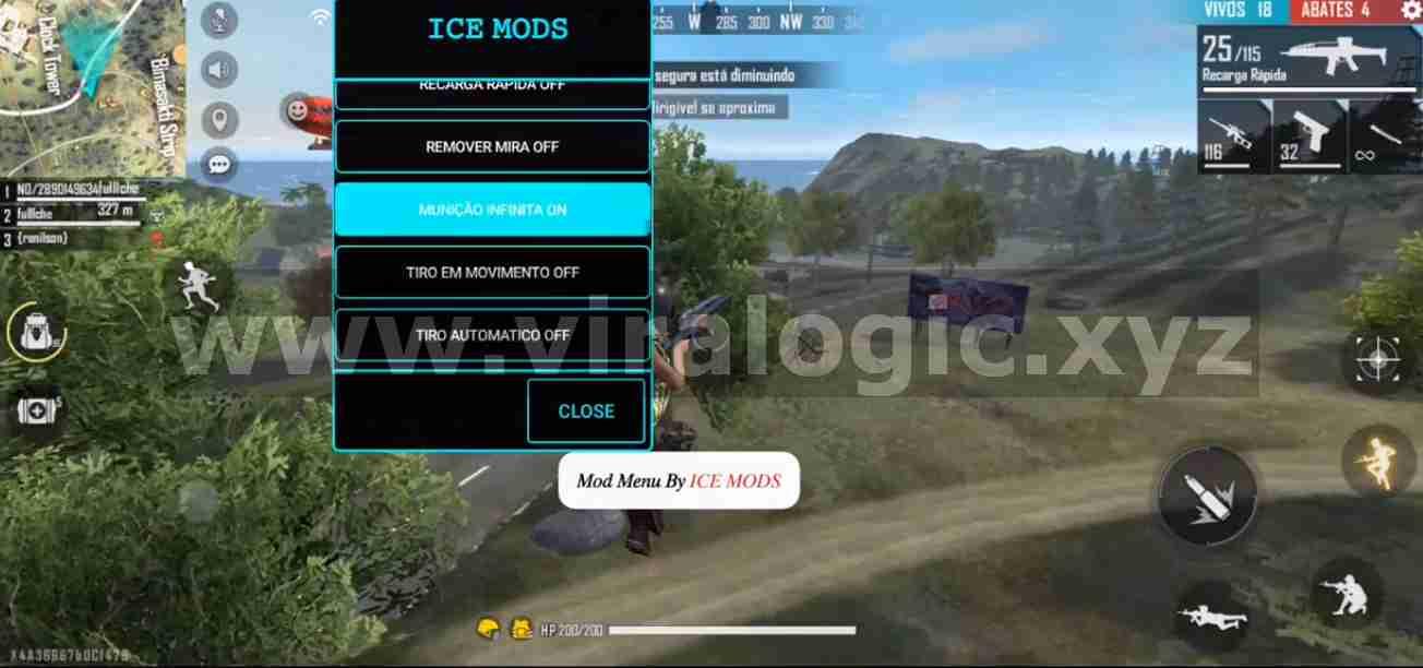 Ice Mods Apk Mod Free Fire Patch Terbaru Anti Ban