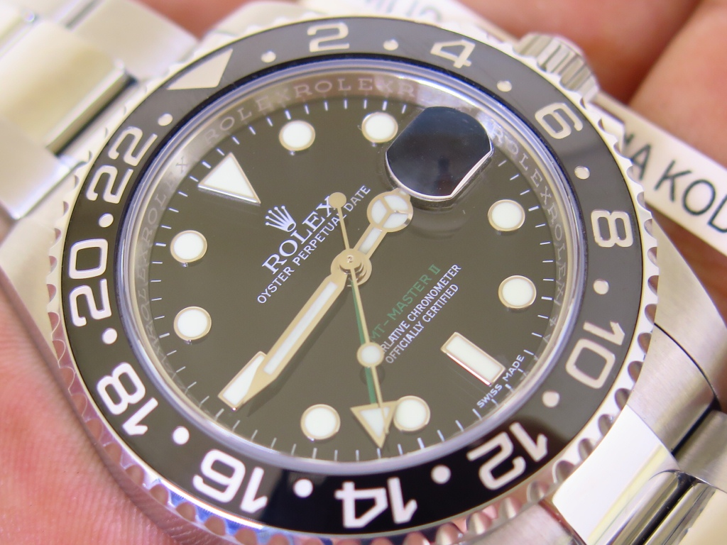 ROLEX GMT MASTER II CERAMIC - ROLEX 116710LN - RANDOM 2017 - FULLSET BOX PAPERS