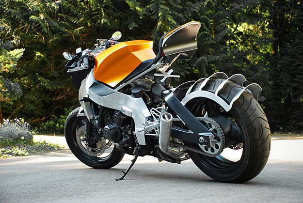 Honda Hurricane Custom Super Bike