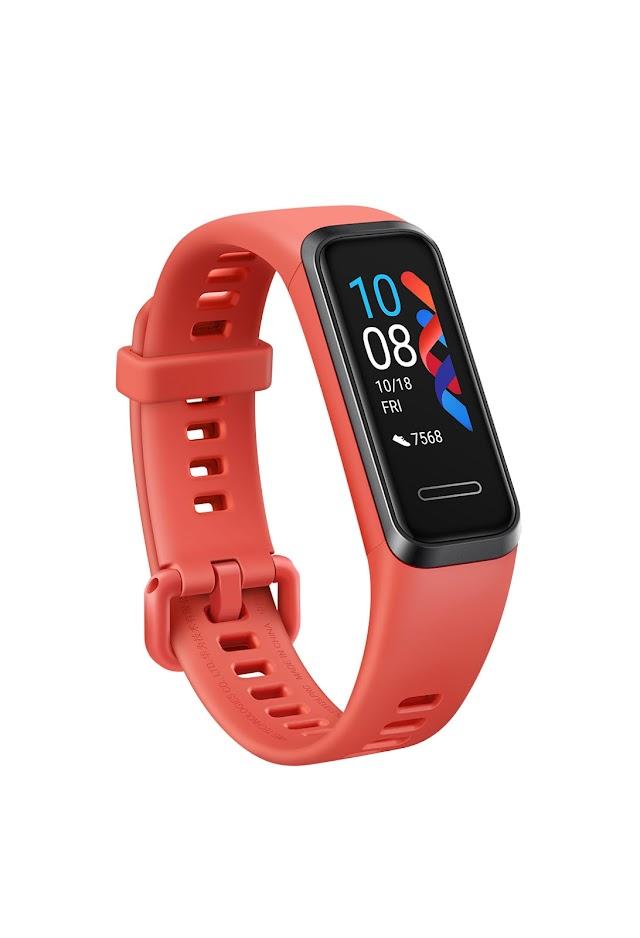 Huawei Band 4 artık kandaki oksijen oranını da ölçüyor