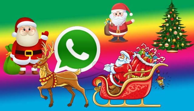 Christmas and New Year Create your own WhatsApp sticker