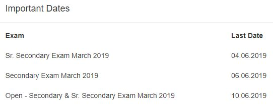 image : HBSE HOS Re-Checking & Re-evaluation March 2019 @ Haryana-Education-News.com