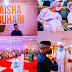 How politicians lavished money on 'ordinary' book launch in honour of First Lady Aisha Buhari. See how much they donated