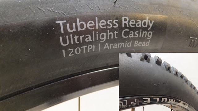 Terrene Cake Eaters 26 x 4.6 Sidewall ultralight tubeless ready