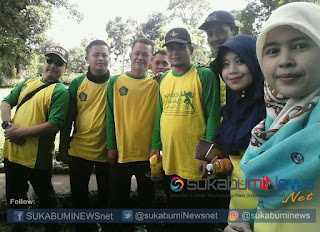 Sekretaris PGI Kabupaten Sukabumi Asep Saepul Hidayat (tiga dari kanan) beserta Pendidik di lingkungan Kemenag Kabupaten Sukabumi.