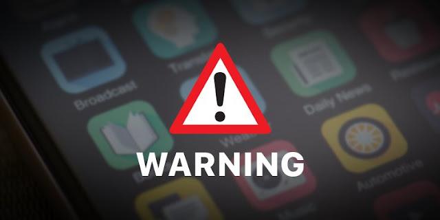 Ciri-ciri Aplikasi Yang Berbahaya untuk Ponsel Anda