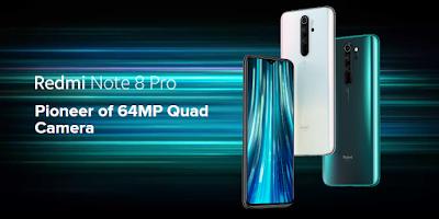 Redmi Note 8 Pro Pioneer of 64MP Quad Camera