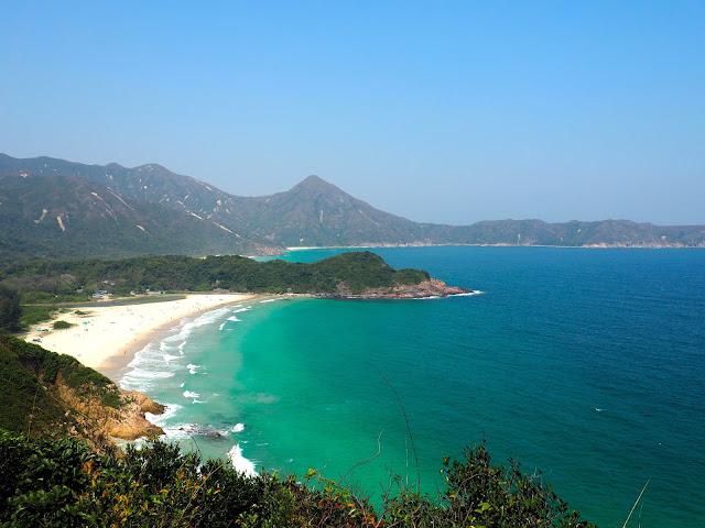 Tai Long Wan beach, Sai Kung, Hong Kong