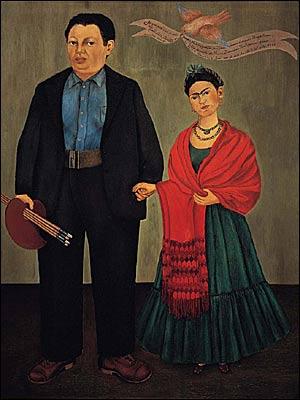 Frida e Diego casamento