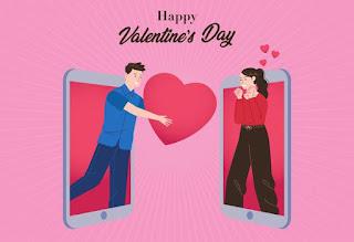 Tips Merayakan Valentine Dengan Pacar Secara Virtual, Cocok Untuk Para Kaum Rebahan