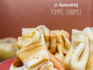 Aumônières pommes caramel au beurre salé