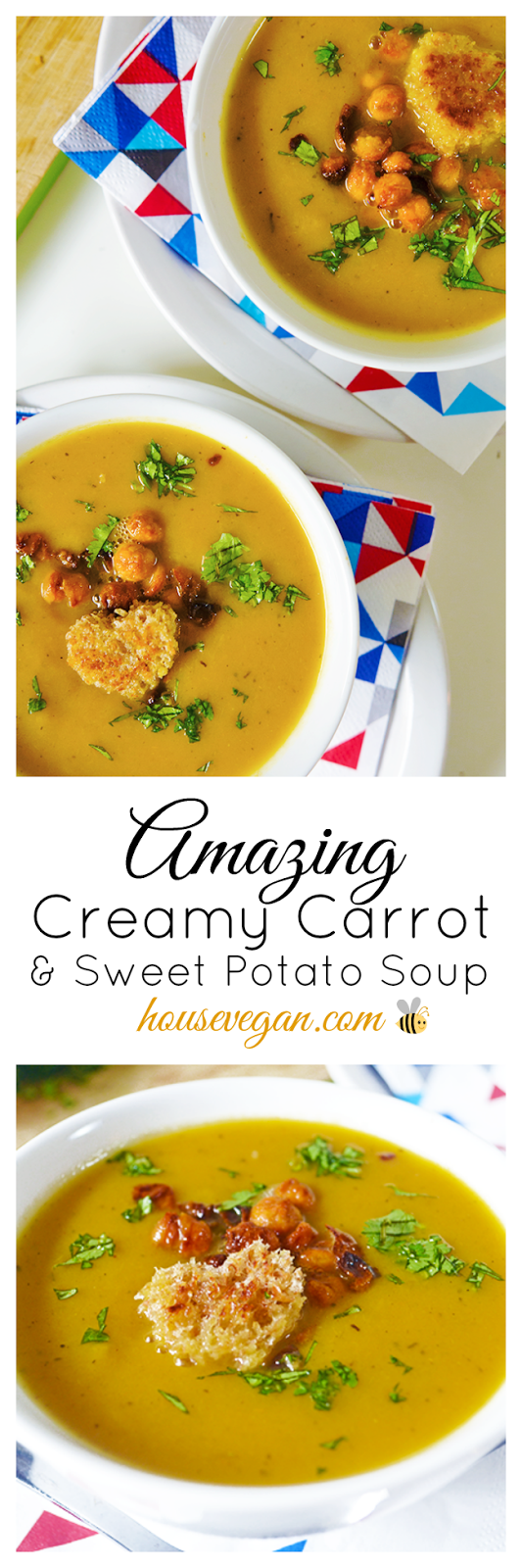 vegan cream soup, vegan carrot soup, vegan spring soup, vegan spring recipes, vegan cream soup recipe, amazing cream soup, creamy carrot soup, carrot and sweet potato soup, best vegan soup