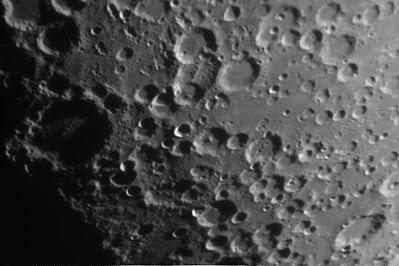 Lluna, zona cràters Magius i Licetus