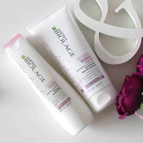 Matrix Biolage Sugar Shine šampūnas ir kondicionierius