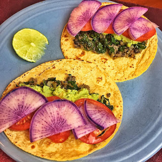 vegan, vegetarian, recipes, tacos, taco tuesday, clean eating, kale tacos, healthy tacos, how to,