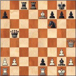 Partida de ajedrez Lehmann - Pomar (1963), posición después de 23...Axg2!!
