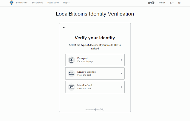 اختيار طريقه لتاكيد هويتك