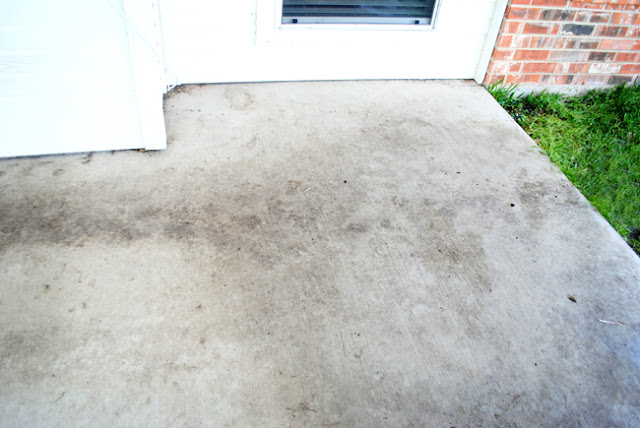 I should be mopping the floor diy miracle concrete patio for What to clean concrete with