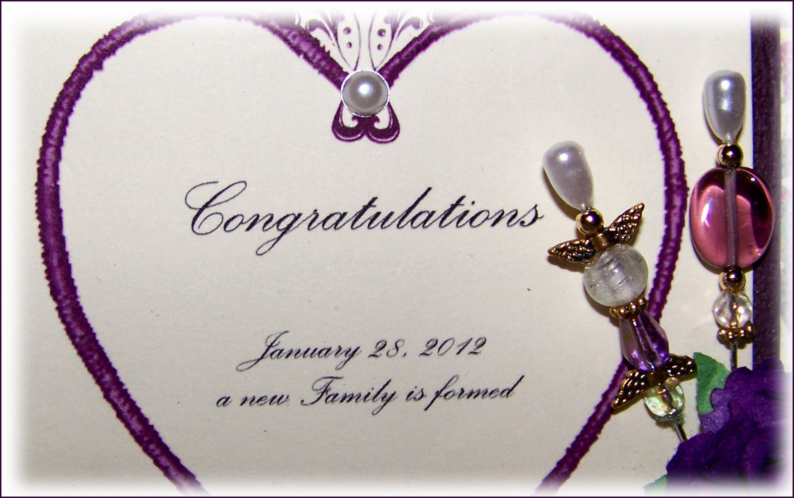 Blended Family Wedding Invitations: My Artistic Release: Blended Family-a Wedding Card