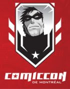 Montreal Comiccon logo. Property of Montreal Comiccon, I'd assume.