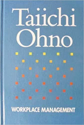 """Buchcover von Taiichi Ohno """"Workplace Management"""""""